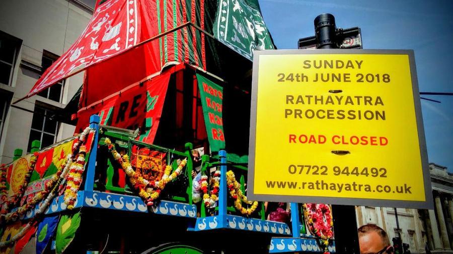 From Krishna's Castle to Trafalgar Square – A Food LoveStory